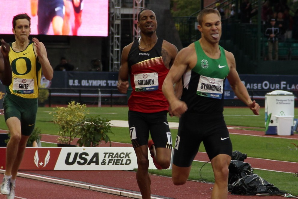 Nick Symmonds wins 5th straight US 800m title; punches ticket to London Games