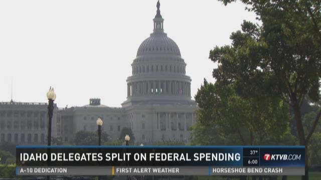Idaho delegates split on federal funding