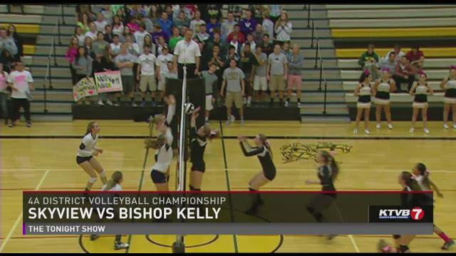 Skyview vs BK volleyball10-23-2014