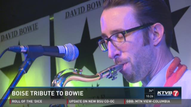 Boise holds tribute to David Bowie