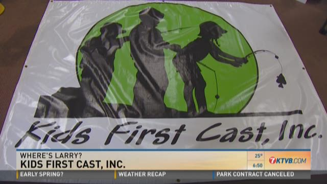 Where's Larry?: Kids First Cast