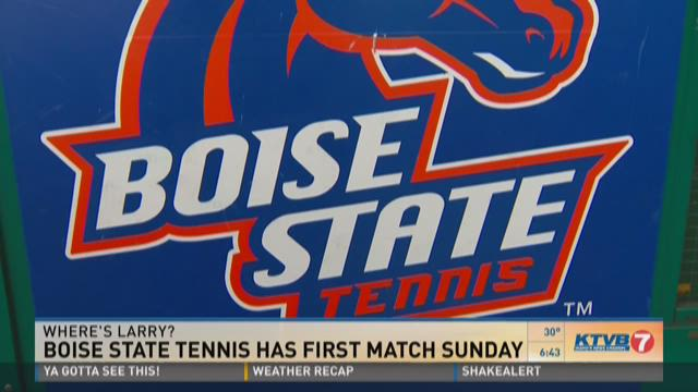 Where's Larry: Boise State tennis