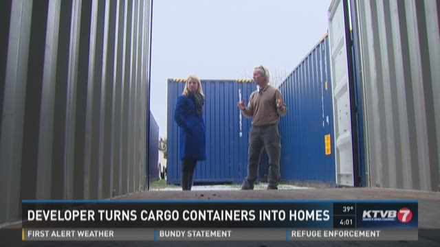 Developer turns cargo containers into homes