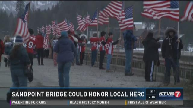 Sandpoint bridge could honor local hero