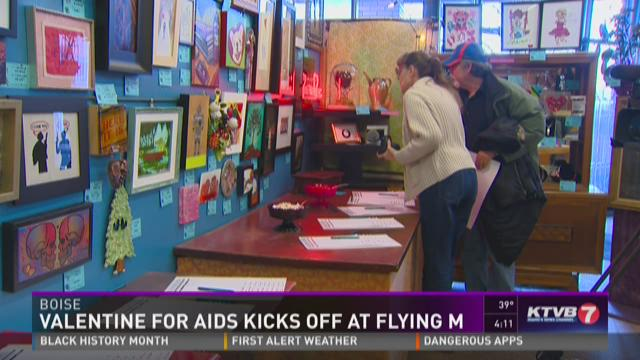 Valentine for AIDS kicks off
