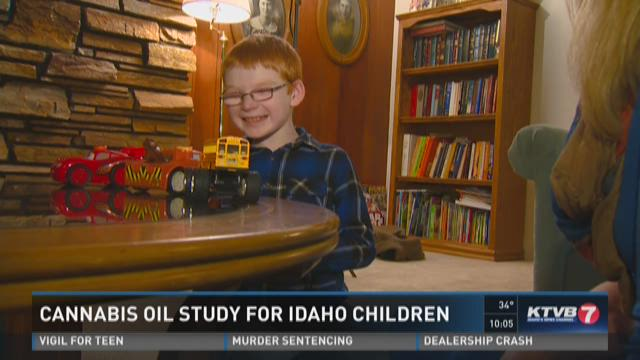 Cannabis oil study for Idaho children