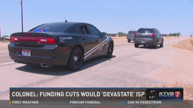 Colonel: Funding cut would 'devastate' ISP
