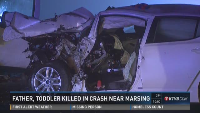 Father, toddler killed in crash near Marsing