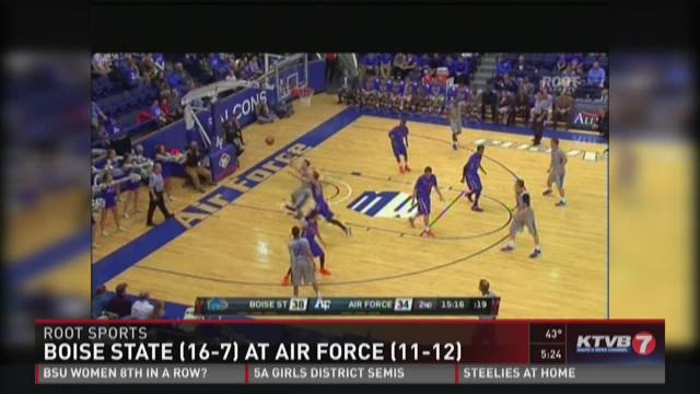 Air Force shocks Boise State 61-53