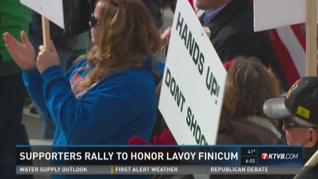 LaVoy Finicum Rally