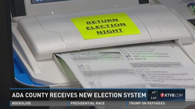 Ada County receives new election system