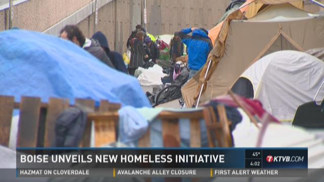 Boise unveils new homeless initiative