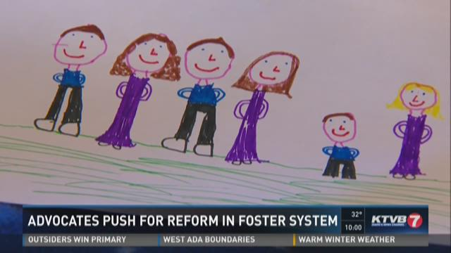 Advocates push for reform in foster system