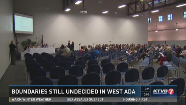 Boundaries being decided in West Ada