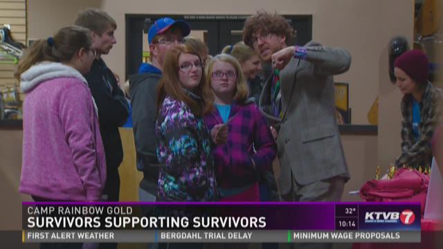 Camp Rainbow Gold: Survivors supporting survivors