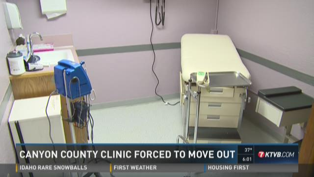 Canyon County clinic forced to move