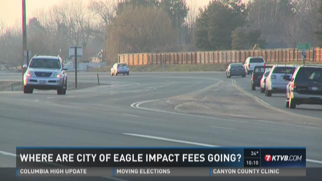 Where are city of Eagle impact fees going?