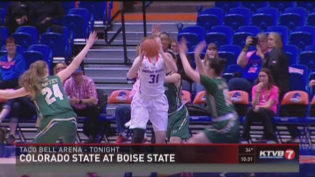 WBB Highlights: Boise State vs. Colorado State