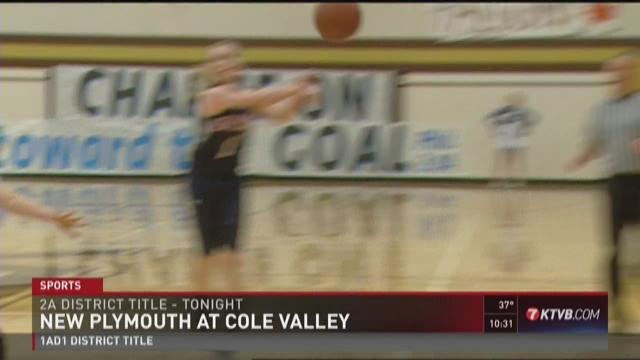 2A WIC Girls district title game: New Plymouth vs. Cole Valley