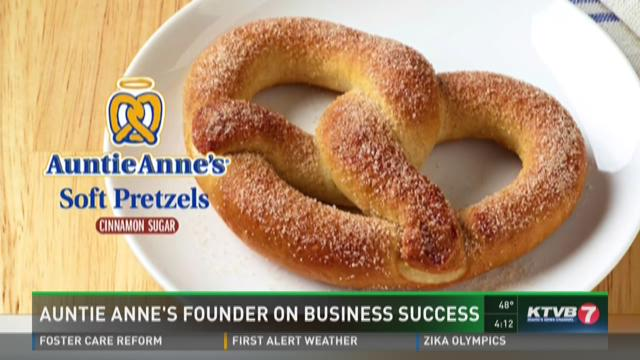 Auntie Anne's founder talks about business success