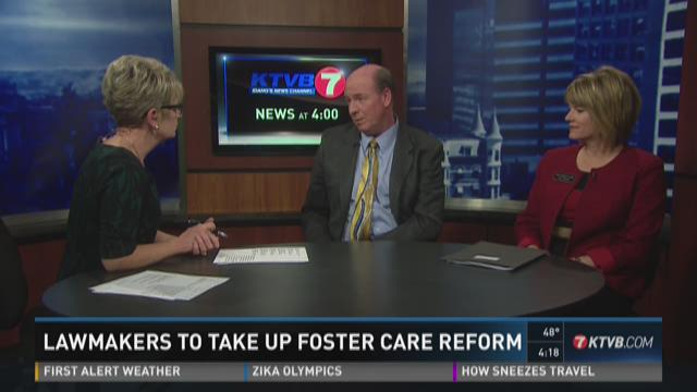 VIDEO: Lawmakers on foster care bill