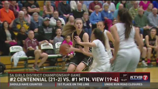 5A SIC District championship: Mountain View vs. Centennial