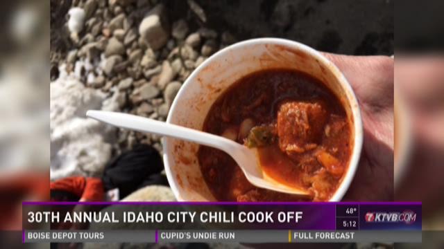 Idaho City 30th Annual Chili Cook Off