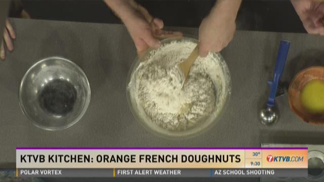 Orange French Doughnuts