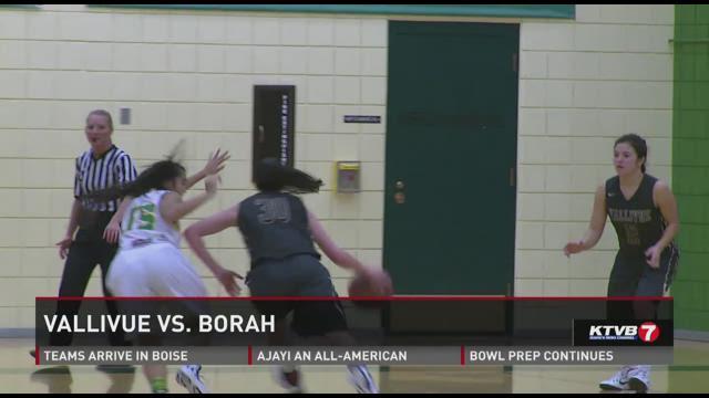 Borah vs Vallivue girls basketball 12 16 201412-16-2014