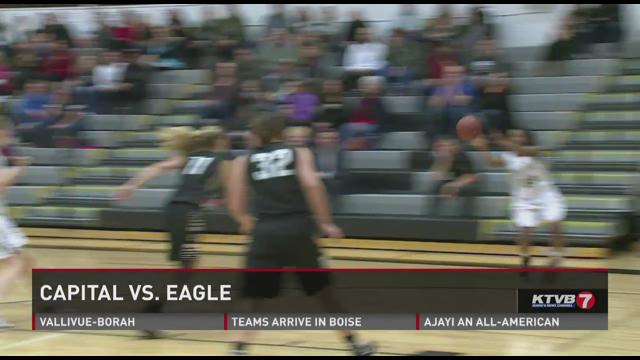 Eagle vs Capital girls basketball 12 16 201412-16-2014
