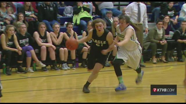 Mountain View vs Eagle girls basketball January 201501-25-2015