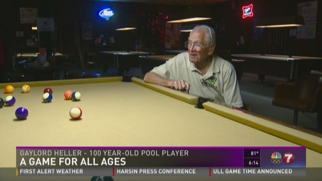 100-year-old pool player to take on 'youngsters' at Idaho Senior Games
