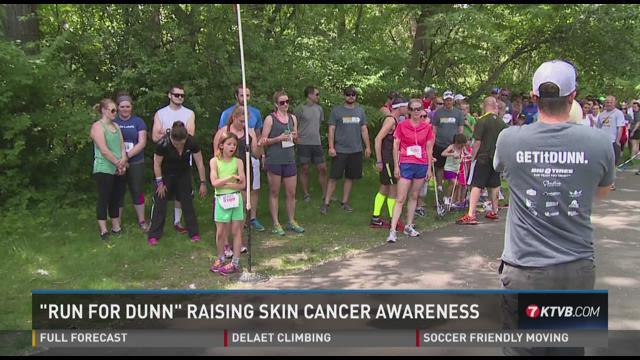 Run For Dunn raising skin cancer awareness