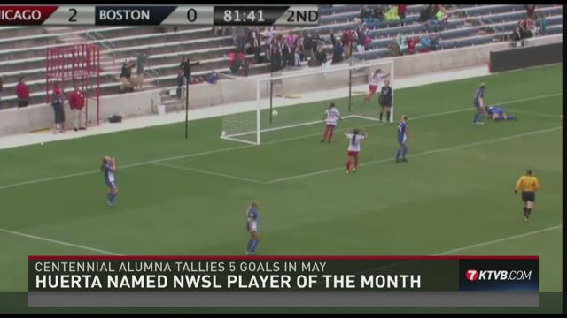 Sofia Huerta earns Player of the Month honors