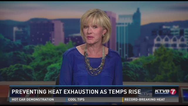 Preventing heat exhaustion as temps rise06-24-2015