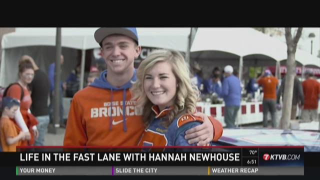 Hannah Newhouse: Life in the fast lane