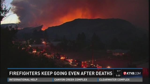 Local firefighters react to Washington deaths