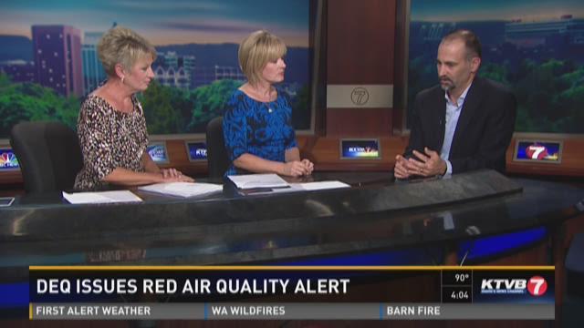 Dr. Jim Souza, M.D. talk about air quality