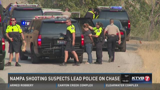 Shooting suspects arrested after high-speed chase
