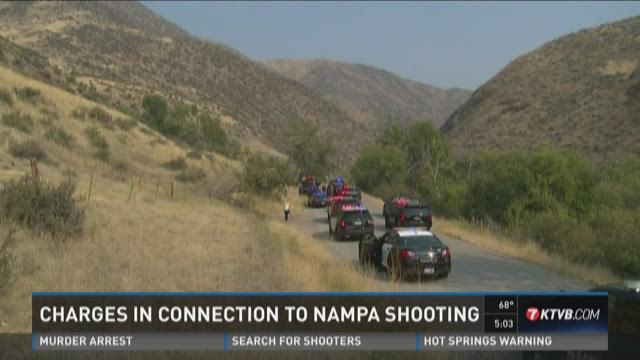Charges in connection to Nampa shooting