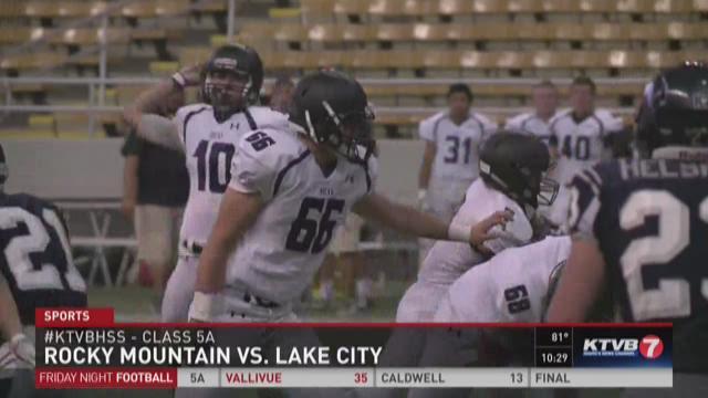 Rocky Mountain vs. Lake City football 8/28/2015