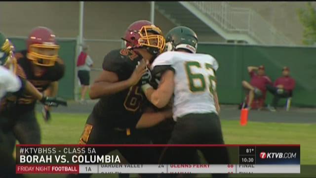 Borah vs. Columbia football 8/28/2015