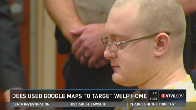 Dees used Google Maps to target Welp home