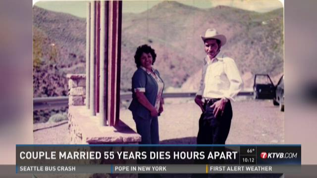 Caldwell husband and wife married 55 years die hours apart