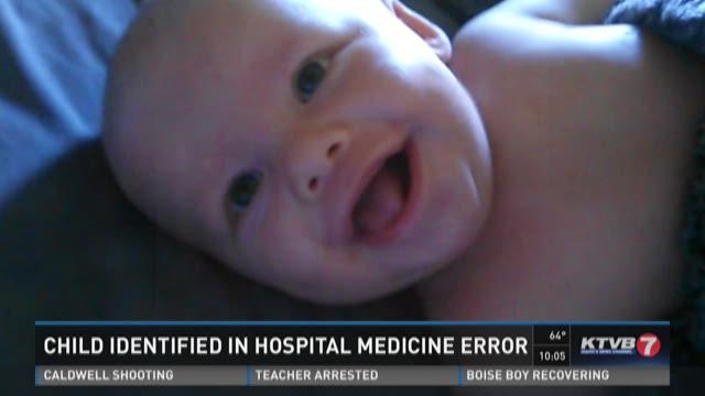 Child identified in hospital medicine error