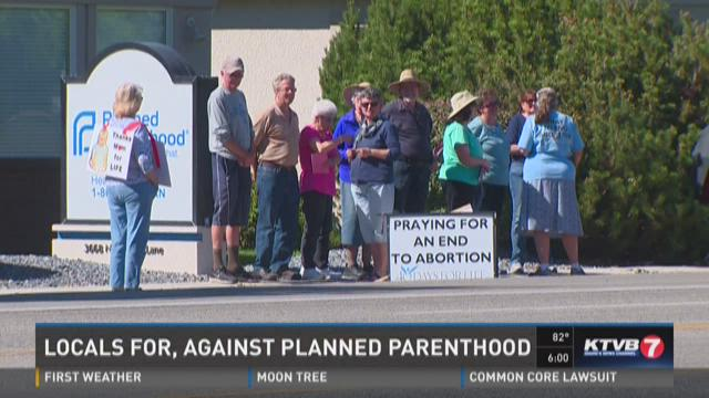 Planned Parenthood demonstrations
