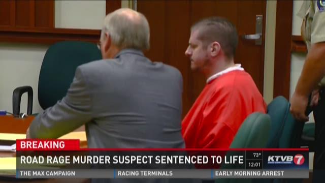Road rage murder suspect sentenced to life