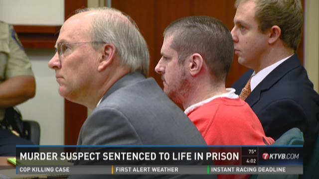 Murderer sentenced to life in prison