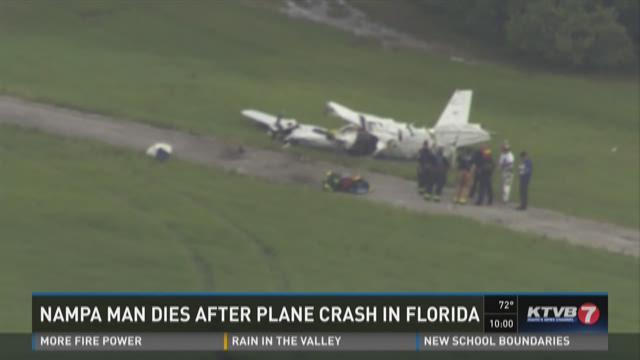 Nampa man dies after plane crash in Florida