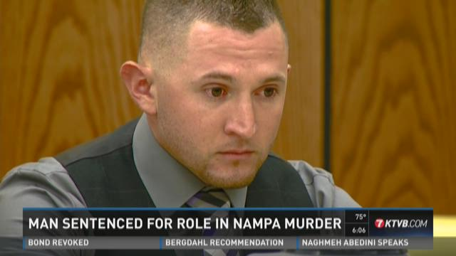 Man sentenced for role in Nampa murder
